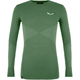 SALEWA Zebru Responsive LS Tee Men, duck green